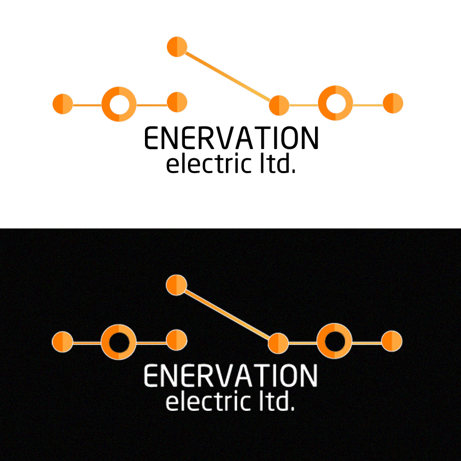 Business Card Design by blackvirus31 - Entry No. 131 in the Business Card Design Contest Enervation Logo Design.