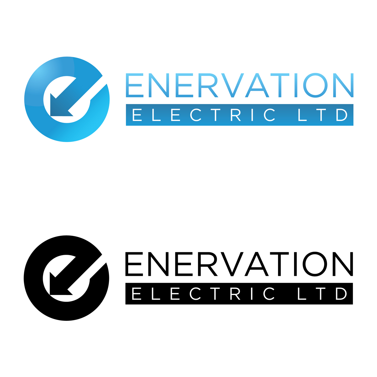 Business Card Design by jhannigan - Entry No. 157 in the Business Card Design Contest Enervation Logo Design.