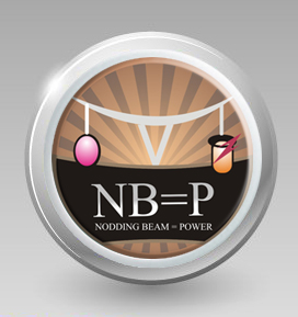 Logo Design by lestari - Entry No. 37 in the Logo Design Contest Nodding Beam = Power Limited.