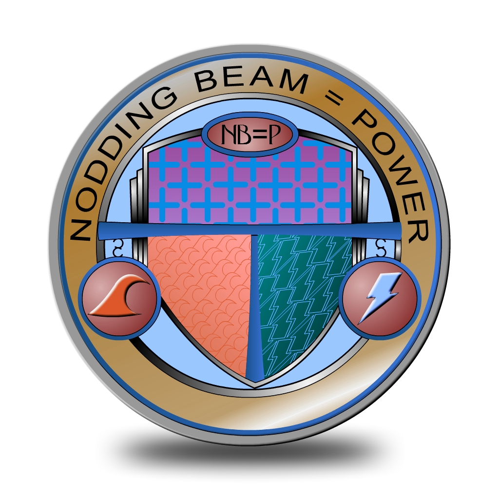 Logo Design by Brian Moelker - Entry No. 39 in the Logo Design Contest Nodding Beam = Power Limited.