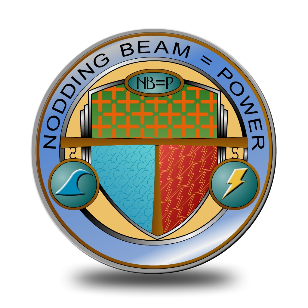 Logo Design by Brian Moelker - Entry No. 40 in the Logo Design Contest Nodding Beam = Power Limited.