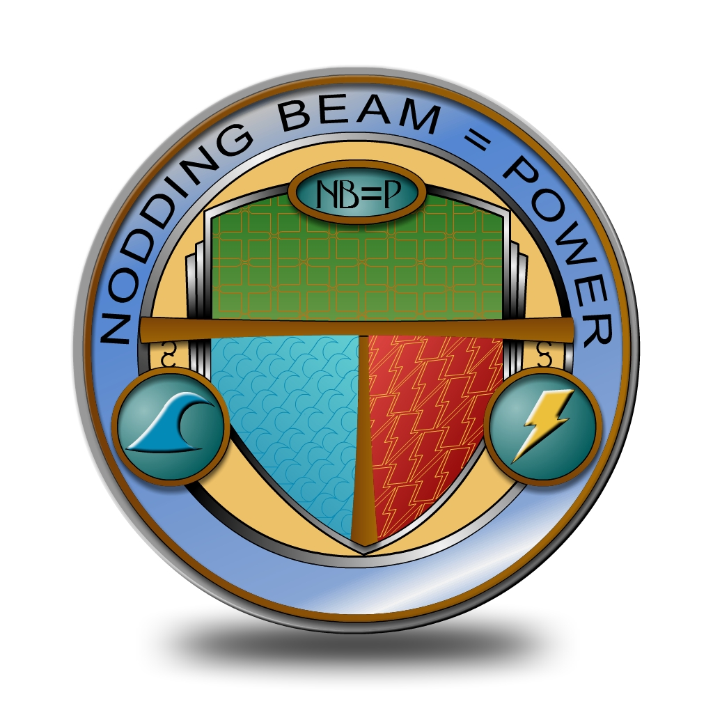 Logo Design by Brian Moelker - Entry No. 42 in the Logo Design Contest Nodding Beam = Power Limited.