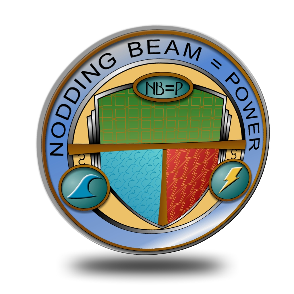 Logo Design by Brian Moelker - Entry No. 43 in the Logo Design Contest Nodding Beam = Power Limited.