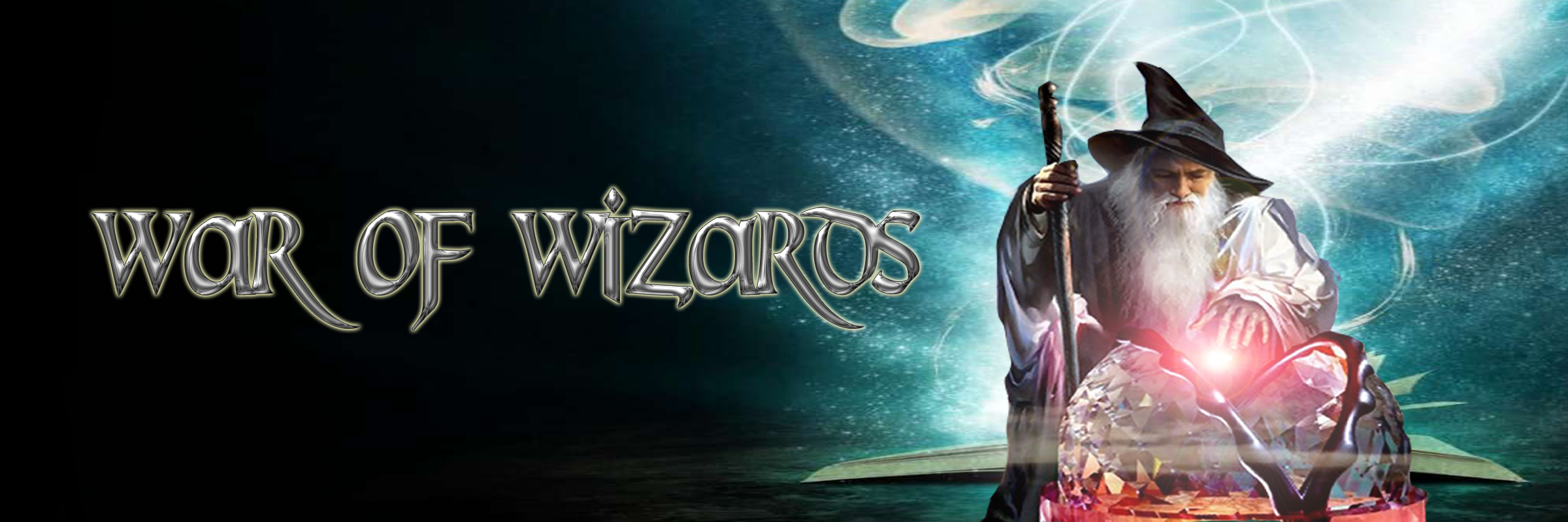 Banner Ad Design by Lara Puno - Entry No. 23 in the Banner Ad Design Contest Banner Ad Design - War of Wizards (fantasy game).