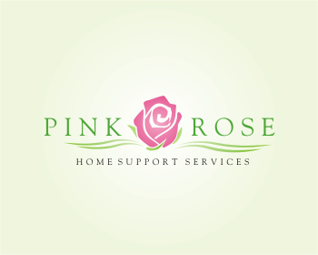 Logo Design by montoshlall - Entry No. 30 in the Logo Design Contest Pink Rose Home Support Services.