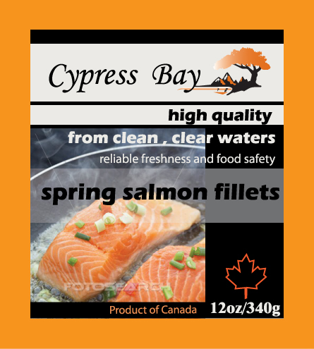 Packaging Design by Private User - Entry No. 14 in the Packaging Design Contest Frozen Seafood Package Label Template.