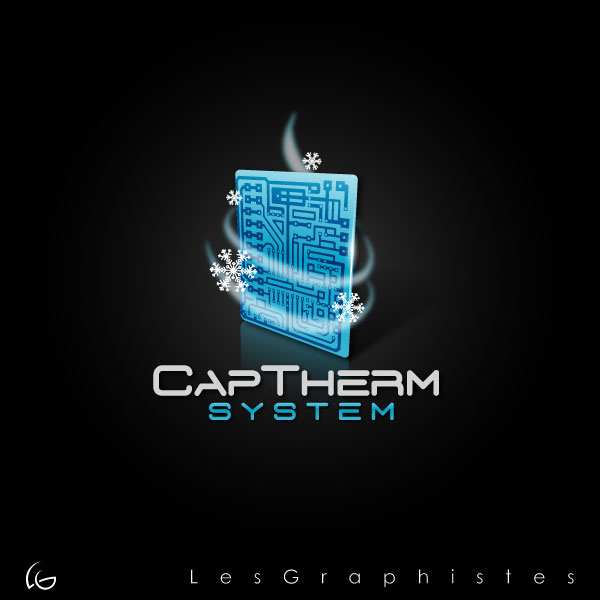 Logo Design by Les-Graphistes - Entry No. 1 in the Logo Design Contest CapTherm Logo.