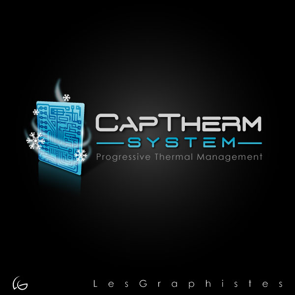Logo Design by Les-Graphistes - Entry No. 2 in the Logo Design Contest CapTherm Logo.