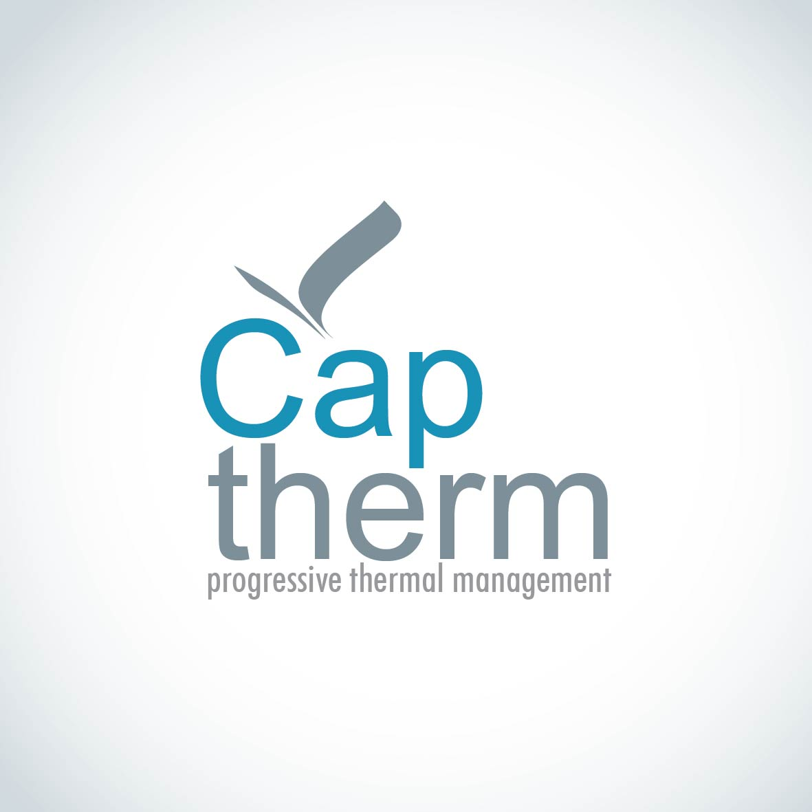 Logo Design by aesthetic-art - Entry No. 10 in the Logo Design Contest CapTherm Logo.