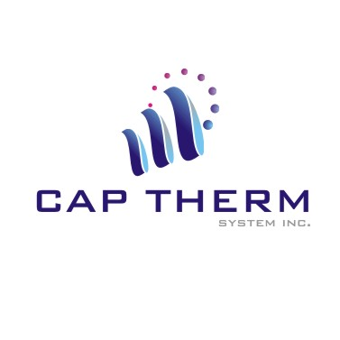Logo Design by chandezin - Entry No. 17 in the Logo Design Contest CapTherm Logo.