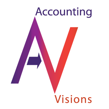 Logo Design by MiConn Designs - Entry No. 1 in the Logo Design Contest Accounting Visions.
