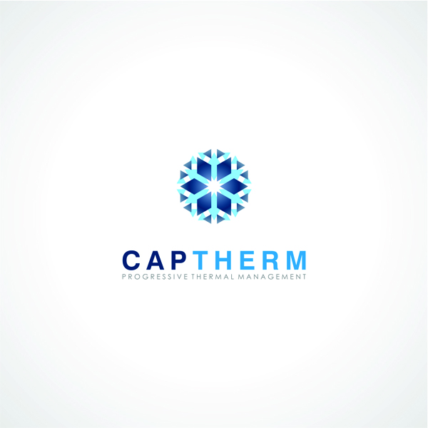 Logo Design by moxlabs - Entry No. 25 in the Logo Design Contest CapTherm Logo.