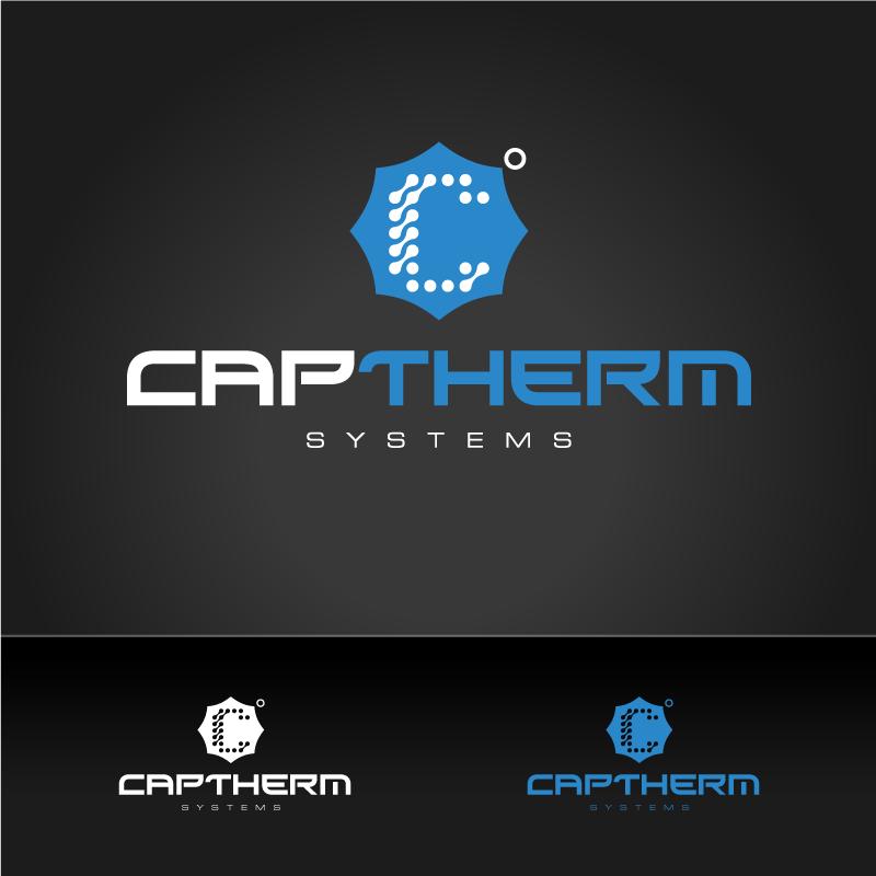 Logo Design by Laith Ibrahim - Entry No. 28 in the Logo Design Contest CapTherm Logo.
