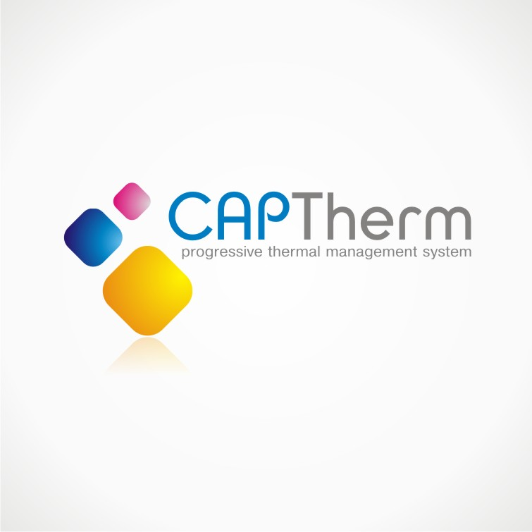 Logo Design by chandezin - Entry No. 31 in the Logo Design Contest CapTherm Logo.
