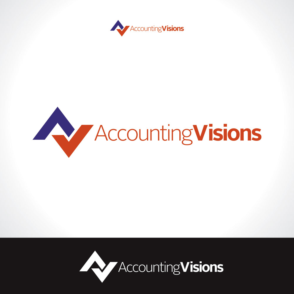 Logo Design by eckosentris - Entry No. 2 in the Logo Design Contest Accounting Visions.
