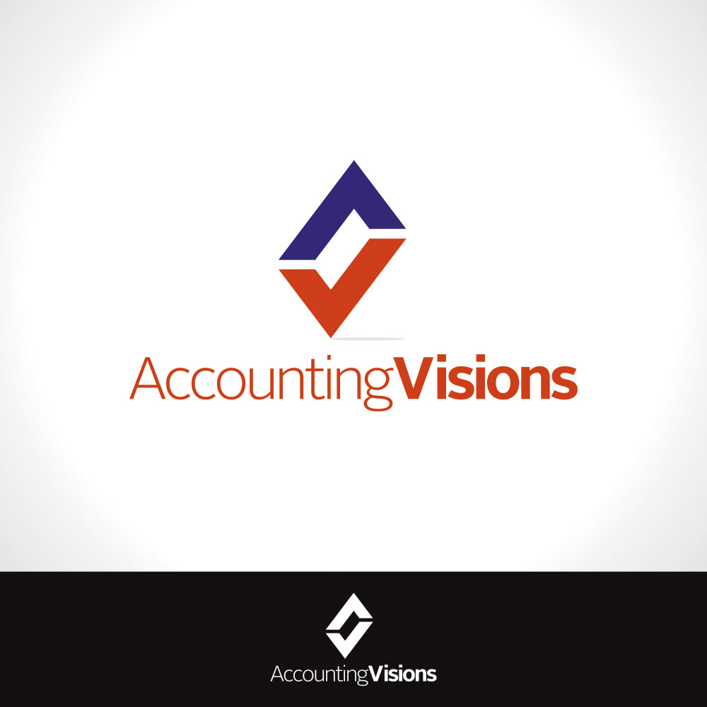 Logo Design by eckosentris - Entry No. 3 in the Logo Design Contest Accounting Visions.