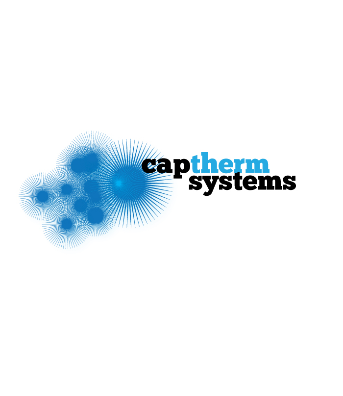 Logo Design by Private User - Entry No. 35 in the Logo Design Contest CapTherm Logo.