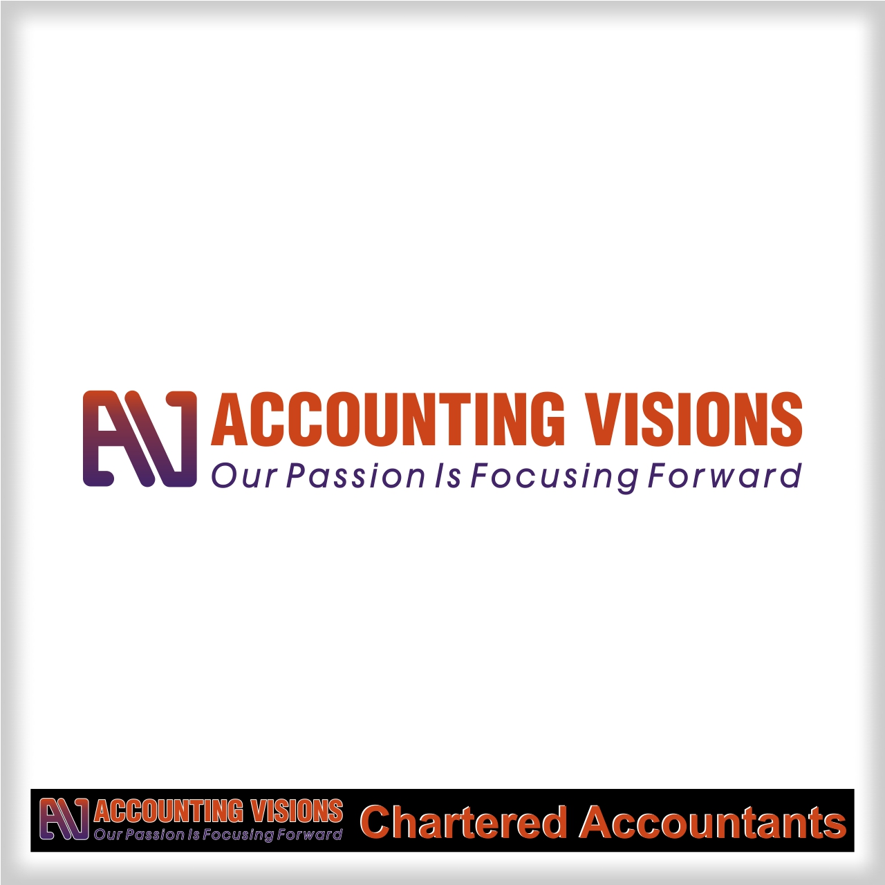 Logo Design by martinz - Entry No. 4 in the Logo Design Contest Accounting Visions.