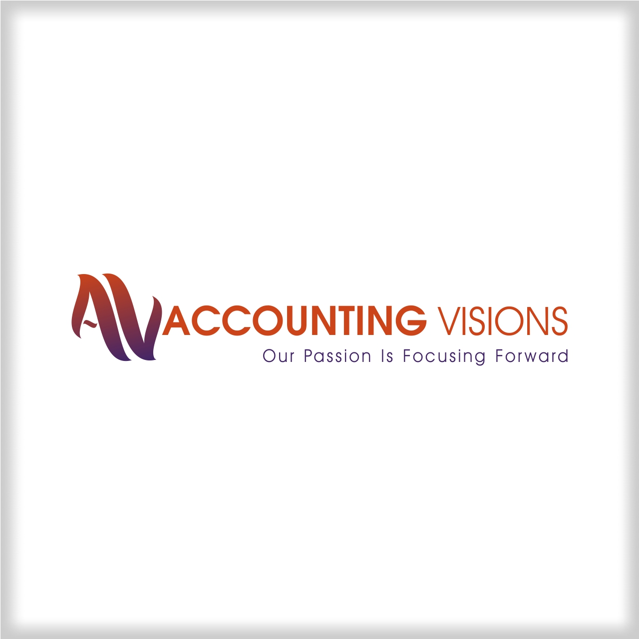 Logo Design by martinz - Entry No. 5 in the Logo Design Contest Accounting Visions.