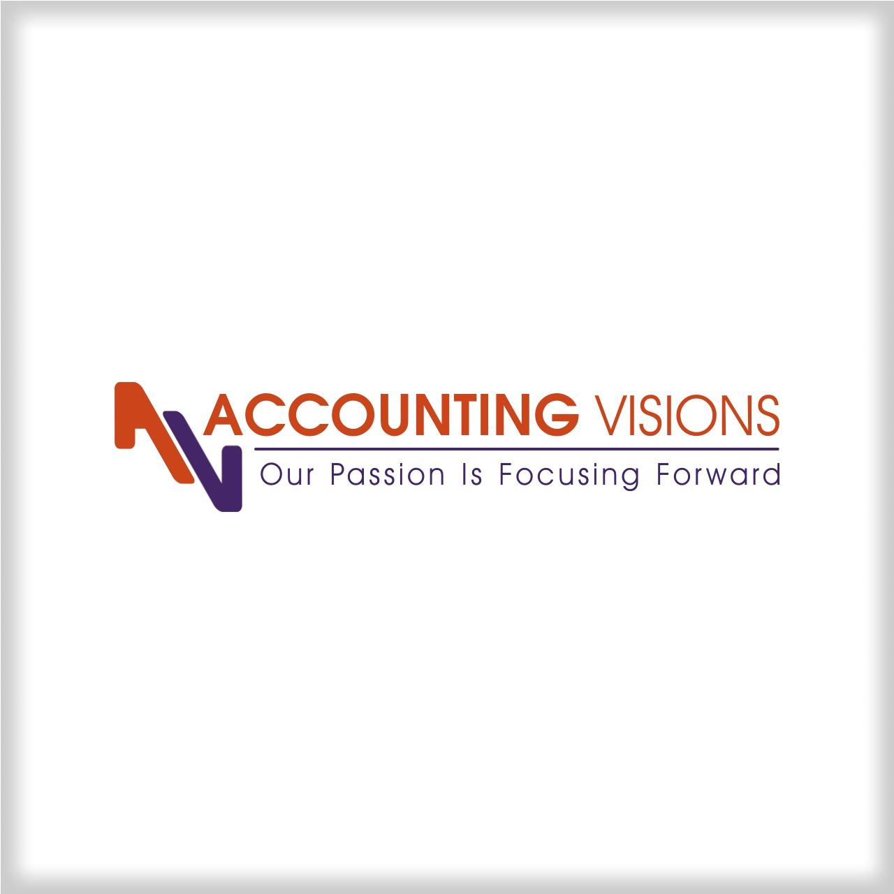 Logo Design by martinz - Entry No. 6 in the Logo Design Contest Accounting Visions.