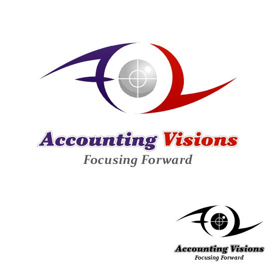 Logo Design by luvrenz - Entry No. 11 in the Logo Design Contest Accounting Visions.