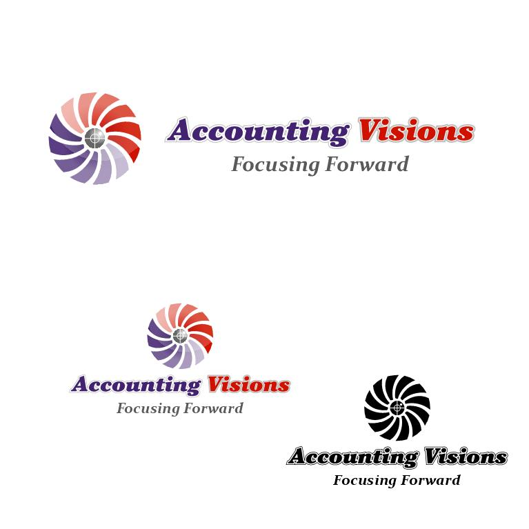 Logo Design by luvrenz - Entry No. 14 in the Logo Design Contest Accounting Visions.