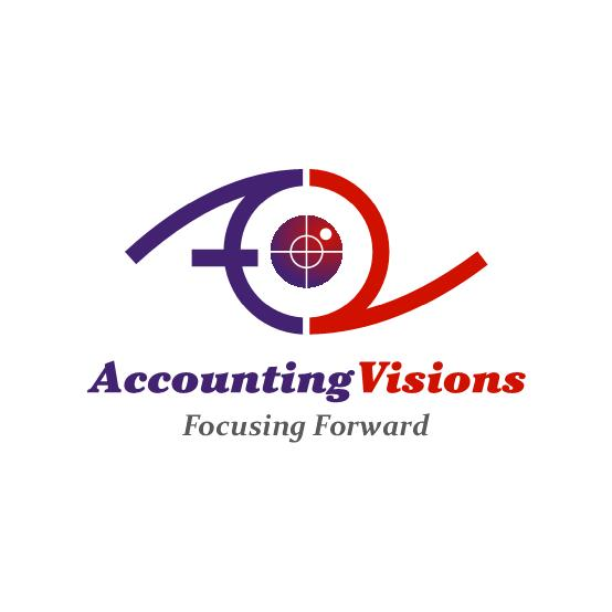 Logo Design by luvrenz - Entry No. 15 in the Logo Design Contest Accounting Visions.