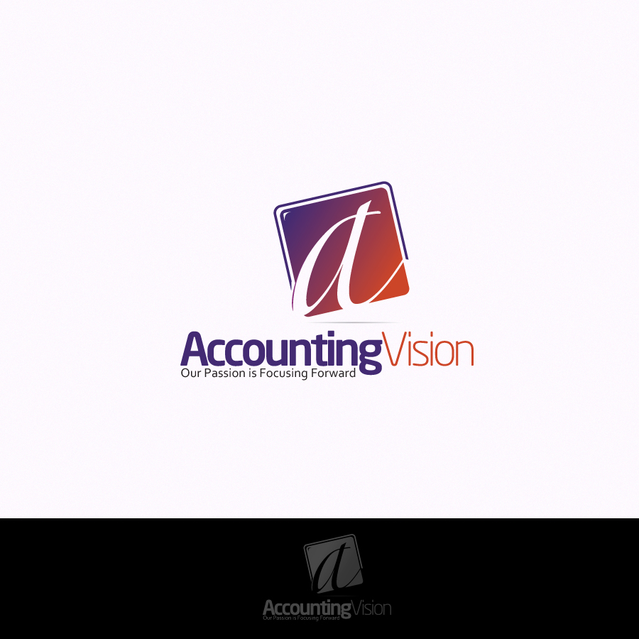 Logo Design by rockpinoy - Entry No. 16 in the Logo Design Contest Accounting Visions.