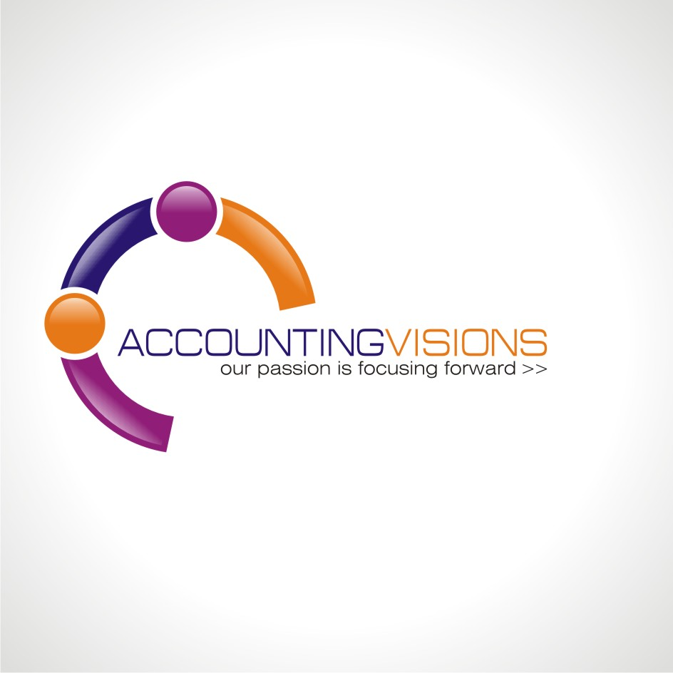 Logo Design by chandezin - Entry No. 18 in the Logo Design Contest Accounting Visions.