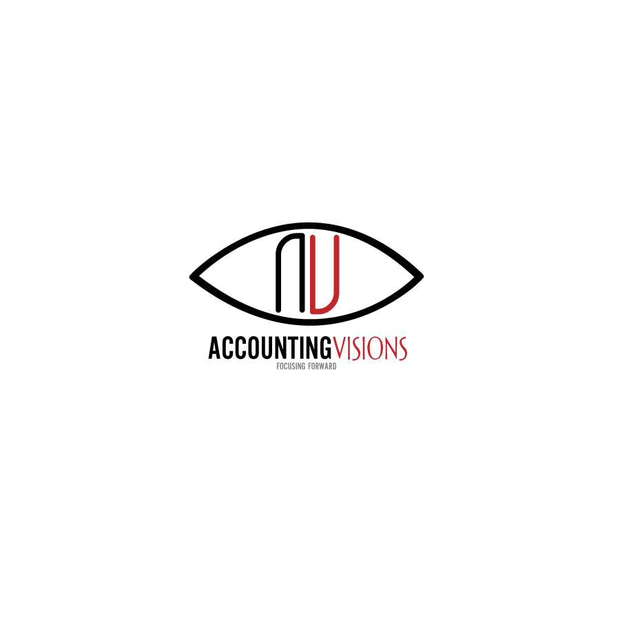 Logo Design by bryzzpogi - Entry No. 19 in the Logo Design Contest Accounting Visions.