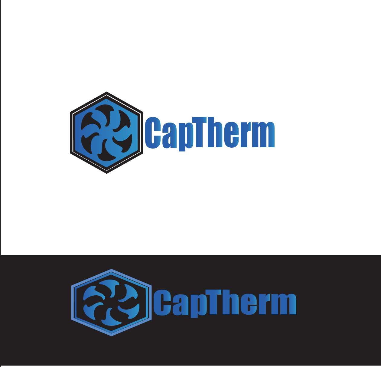 Logo Design by Gavriel Charalambous - Entry No. 48 in the Logo Design Contest CapTherm Logo.