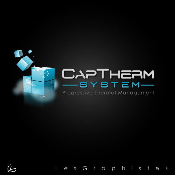 Logo Design by Les-Graphistes - Entry No. 51 in the Logo Design Contest CapTherm Logo.