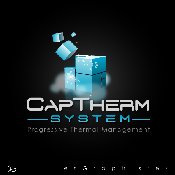Logo Design by Les-Graphistes - Entry No. 52 in the Logo Design Contest CapTherm Logo.