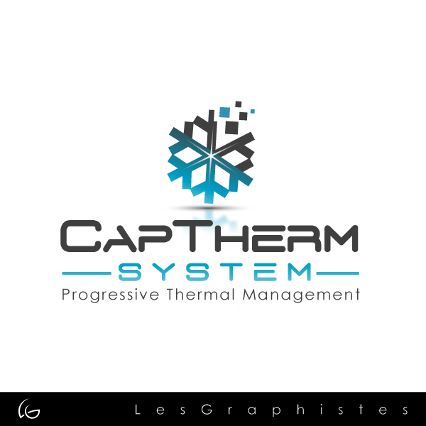 Logo Design by Les-Graphistes - Entry No. 54 in the Logo Design Contest CapTherm Logo.