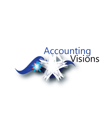 Logo Design by Private User - Entry No. 20 in the Logo Design Contest Accounting Visions.