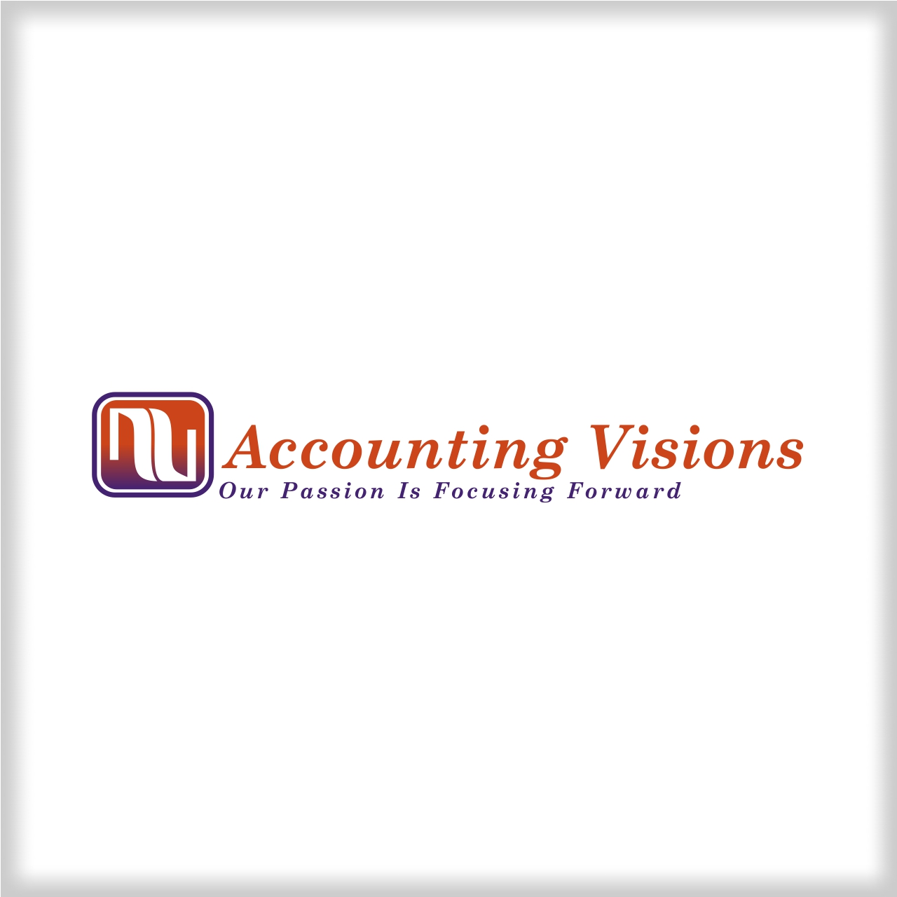 Logo Design by martinz - Entry No. 23 in the Logo Design Contest Accounting Visions.