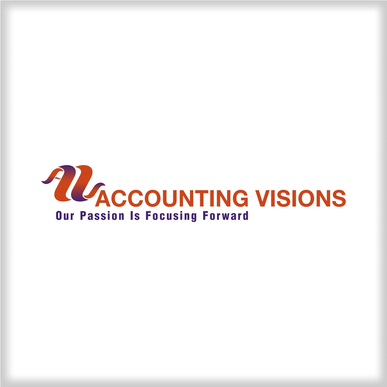 Logo Design by martinz - Entry No. 24 in the Logo Design Contest Accounting Visions.