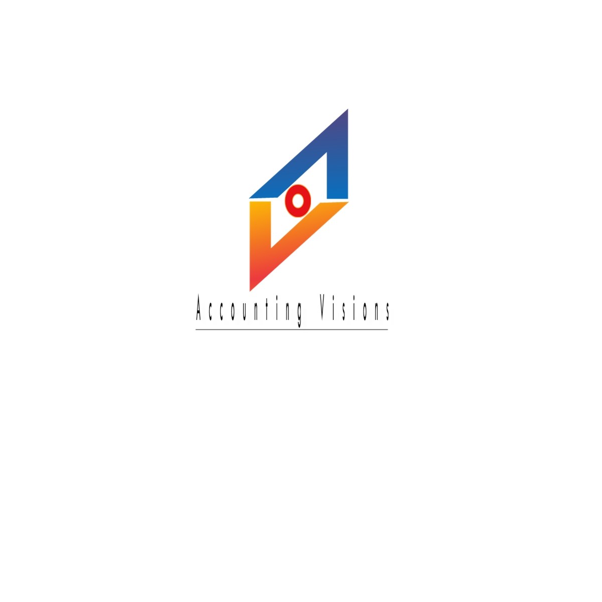 Logo Design by Joseph calunsag Cagaanan - Entry No. 26 in the Logo Design Contest Accounting Visions.