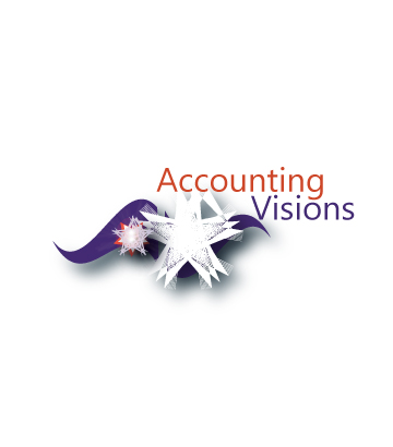 Logo Design by Private User - Entry No. 28 in the Logo Design Contest Accounting Visions.