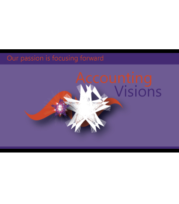 Logo Design by Private User - Entry No. 32 in the Logo Design Contest Accounting Visions.