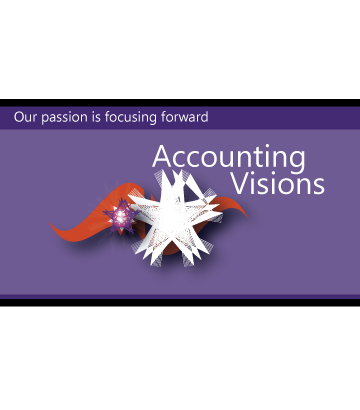 Logo Design by Private User - Entry No. 33 in the Logo Design Contest Accounting Visions.