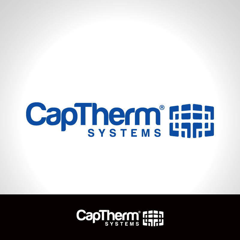 Logo Design by Number-Eight-Design - Entry No. 62 in the Logo Design Contest CapTherm Logo.