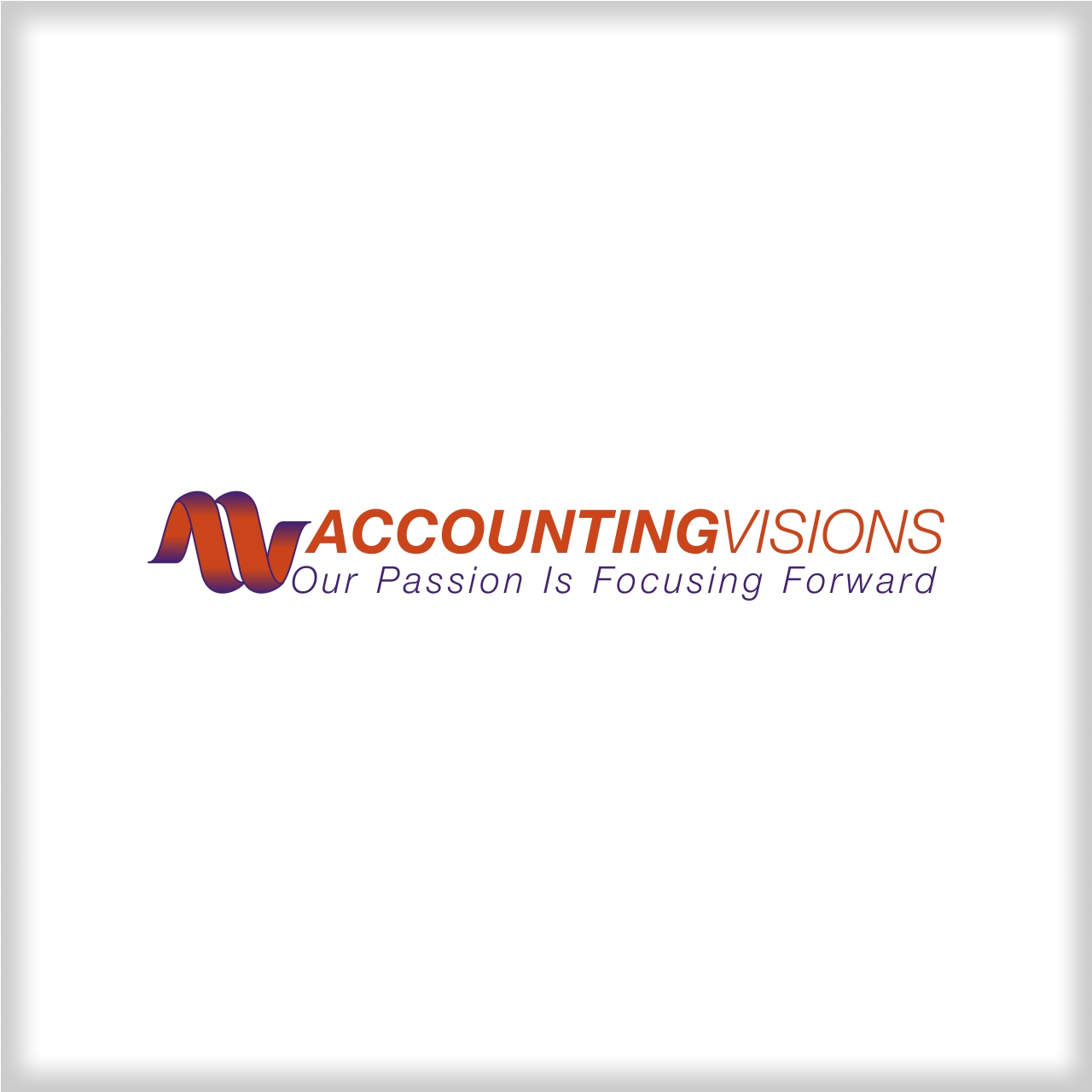 Logo Design by martinz - Entry No. 34 in the Logo Design Contest Accounting Visions.