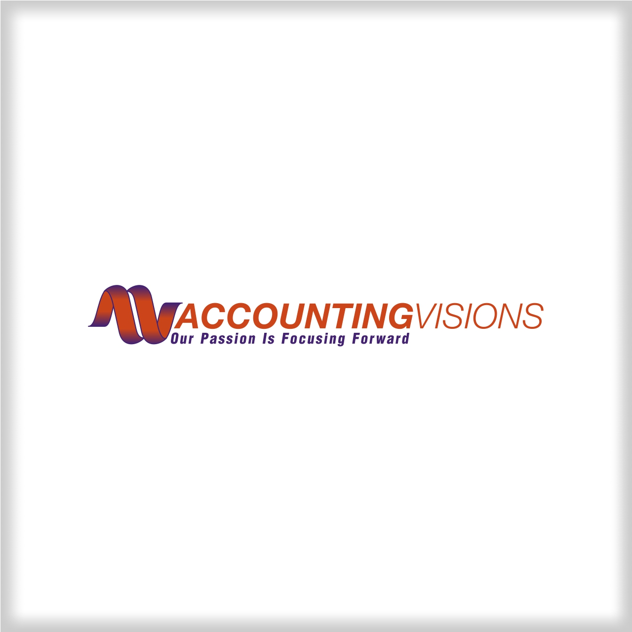 Logo Design by martinz - Entry No. 36 in the Logo Design Contest Accounting Visions.