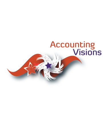 Logo Design by Private User - Entry No. 37 in the Logo Design Contest Accounting Visions.