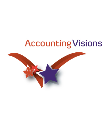 Logo Design by Private User - Entry No. 38 in the Logo Design Contest Accounting Visions.