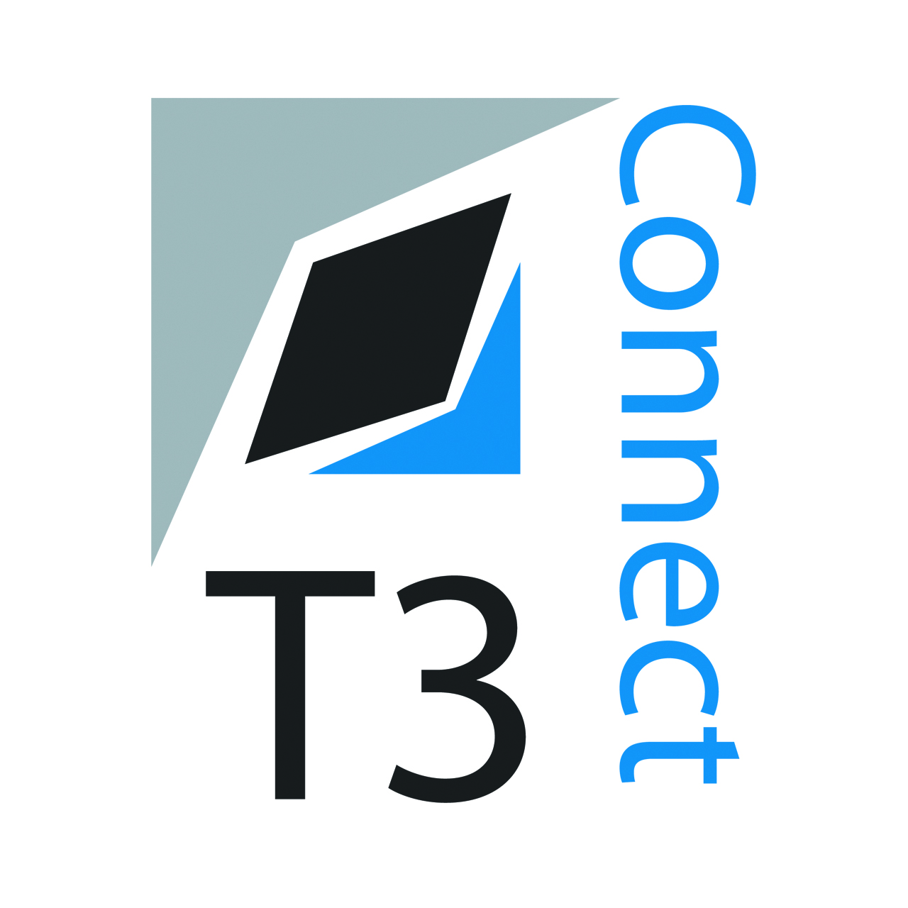 Logo Design by bUtz - Entry No. 1 in the Logo Design Contest T3 CONNECT Sports Marketing logo.