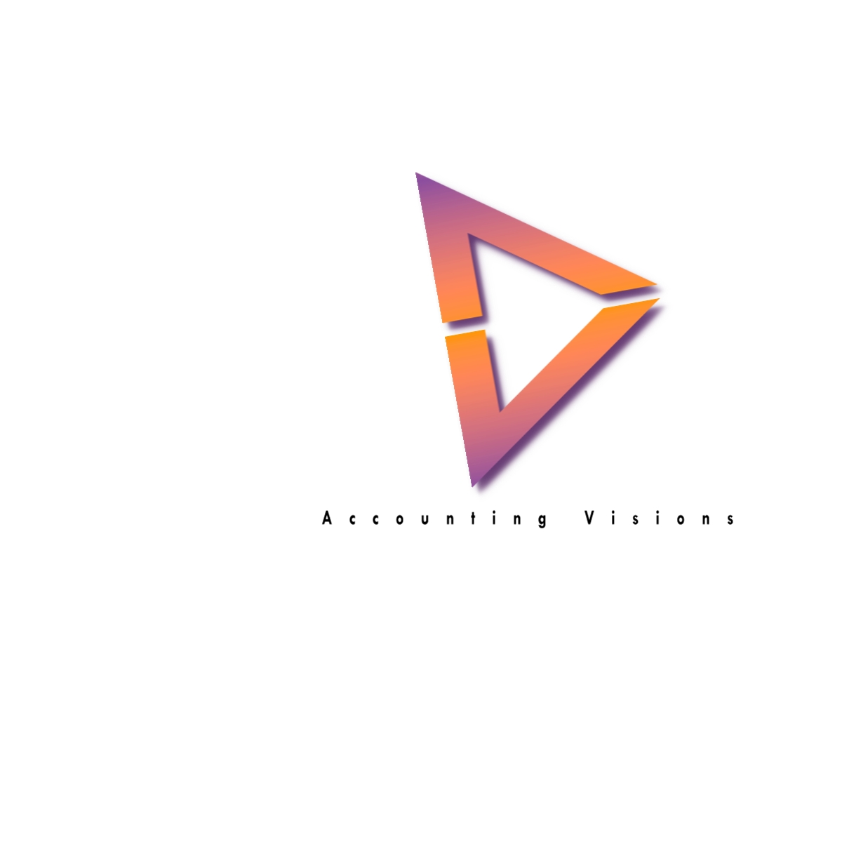 Logo Design by Joseph calunsag Cagaanan - Entry No. 50 in the Logo Design Contest Accounting Visions.
