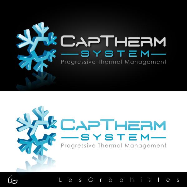 Logo Design by Les-Graphistes - Entry No. 85 in the Logo Design Contest CapTherm Logo.