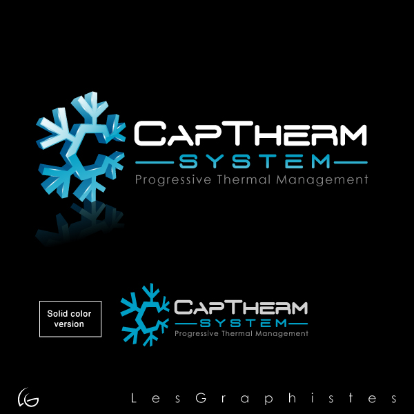 Logo Design by Les-Graphistes - Entry No. 86 in the Logo Design Contest CapTherm Logo.